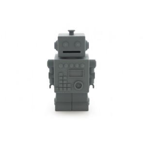Robot Money Box in Darkgrey