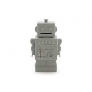 Robot Money Box in Lightgrey
