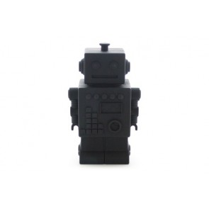 Robot Money Box in Black