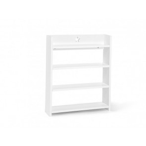 White Wooden Star Wall Shelf