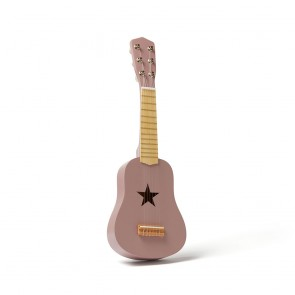 Lilac Wooden Guitar