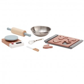 Wooden Toy Baking Set
