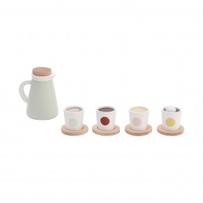 Swedish Wooden Fika Coffee Set
