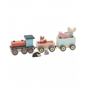 Edvin Wooden Animal Train