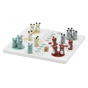 Edvin Wooden Ludo Board Game
