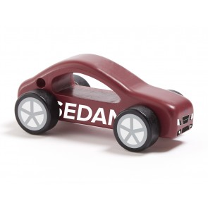 Wooden Car Aiden Red