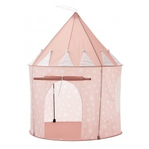 Play Tent with Stars in Dusty Pink