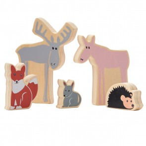 Edvin Woodland Animal Set