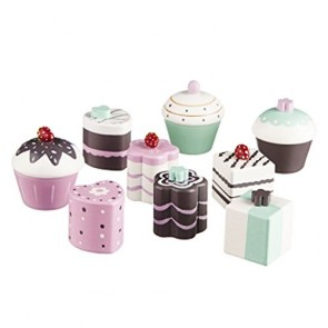 Wooden Toy Cakes