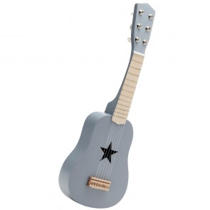 Grey Wooden Guitar