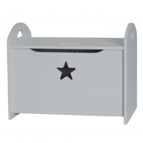 Storage Chest Star in Grey