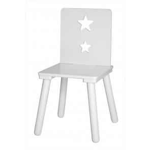 Wooden Chair in White