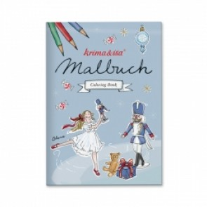 Colouring Book Nutcracker