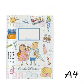 DIN A4 Elasticated Folder First Day of School