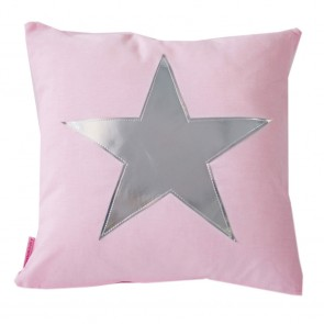 Star Cushion in Rose