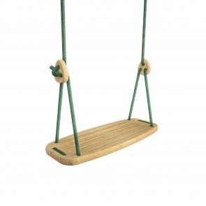 Lillagunga Classic - Oak - Green Ropes