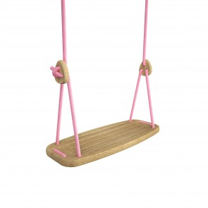 Lillagunga Classic - Oak - Pink Ropes