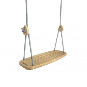 Lillagunga Classic - Oak - Grey Ropes