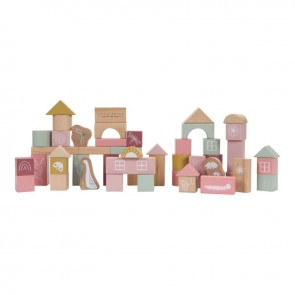 Wooden Blocks in Pink