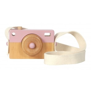 Wooden Camera in Adventure Pink