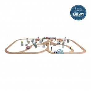 Railway Train Set XXL - Starter Kit