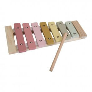 Wooden Xylophone in Pink