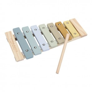 Wooden Xylophone in Blue