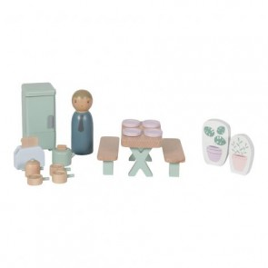 Wooden Doll House Play Set 'Kitchen'