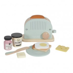 Wooden Toaster Set in Soft Mint