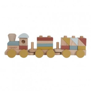 Wooden Toy Train Pure & Nature