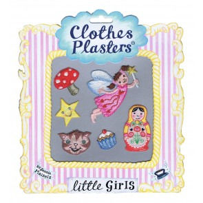 Little Girls Set of 6 Clothes Plasters