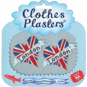 London Heart Clothes Plasters