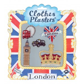 London Set of 5 Clothes Plasters