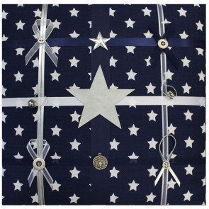 Memo Board Blue Star