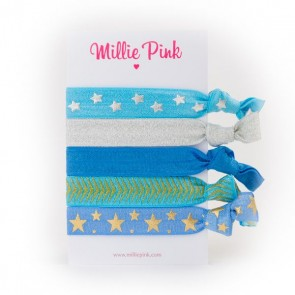 Elastic Hair Ties Sorrento Stars