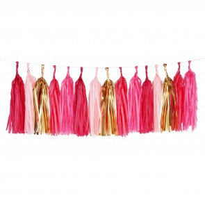 Tassel Garland in Pink