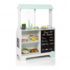 Shop and Street Kitchen Piperis in White Grey Mint