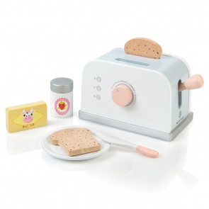 Wooden Toaster Set Olea