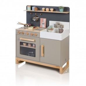 Kitchen Linum in Warmgrey/ Natural