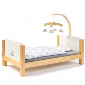 Doll Bed Barlia in Natural White