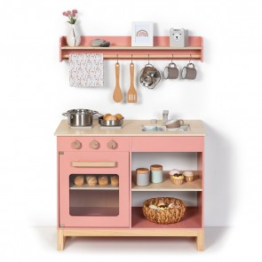 Kitchen Magnolia in Rose/ Natural