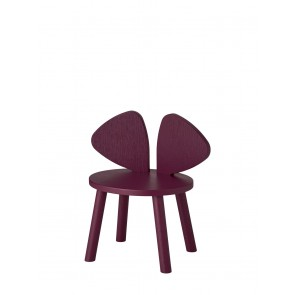 Mouse Chair Burgundy