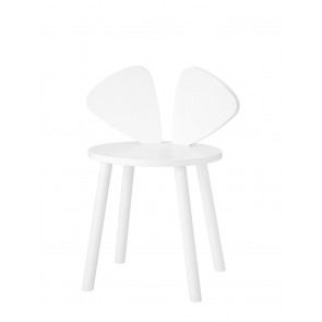 Mouse Chair School (6-10 Years)  - White