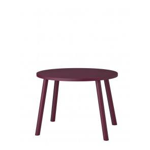 Mouse Table Burgundy
