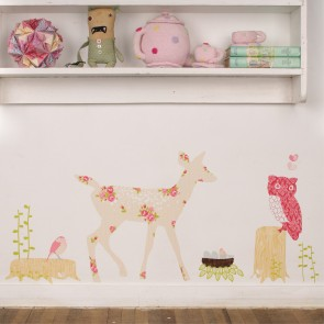 Girly Oh Deer Wall Sticker