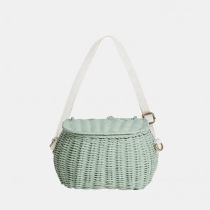 Mini Chari Basket Mint