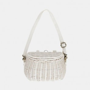 Mini Chari Basket White