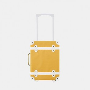 Kids Travel Suitcase See-Ya in Mustard