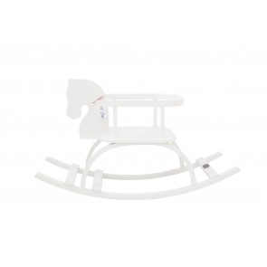 Handmade Rocking Horse White *Limited Edition*
