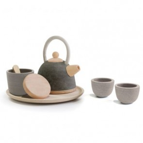 Wooden Tea Set Asian Style